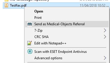 Referral Client PDF Sending - Knowledgebase - Medical